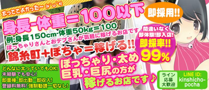 錦糸町3900円生ヘルス!ぽちゃカワ女子専門店!